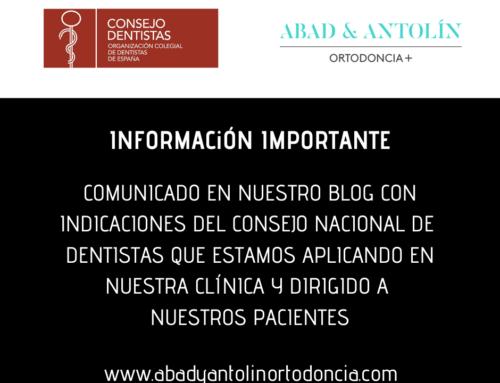 CORONAVIRUS – COMUNICADO ORGANIZACIÓN COLEGIAL DE DENTISTAS DE ESPAÑA
